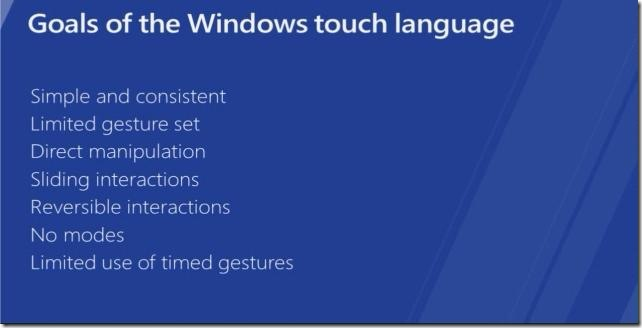 Windows 8 Designing touch optimized - Design principles of the touch language - Metro style apps