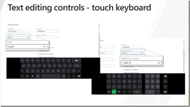 Windows 8 In-box Controls - Text editing controls - touch keyboard
